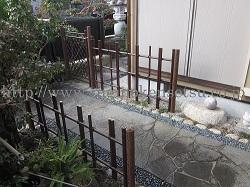 日本庭園でお庭に品を4