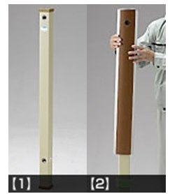 被せるだけでモダンな立水栓に『フォギータイプA』施工方法