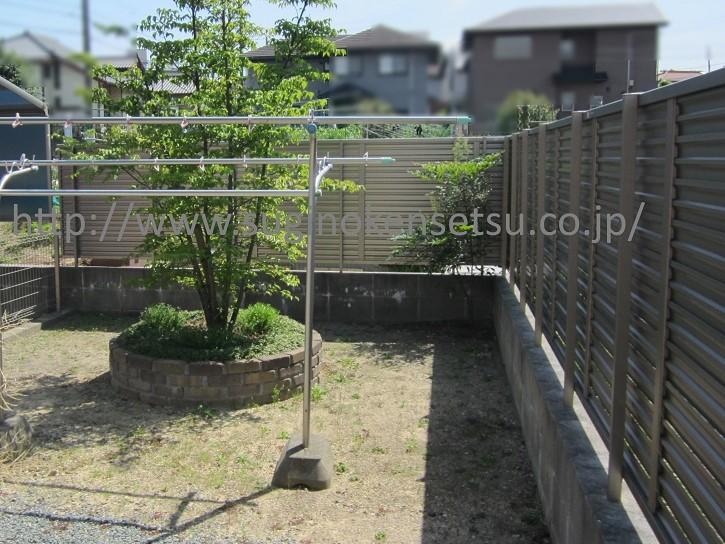 ガーデン施工前