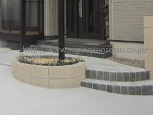 ブロック花壇2