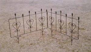 設置が簡単な花壇フェンス『イージーフェンス1007』連結