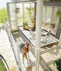 ガーデンルームとペットスペース