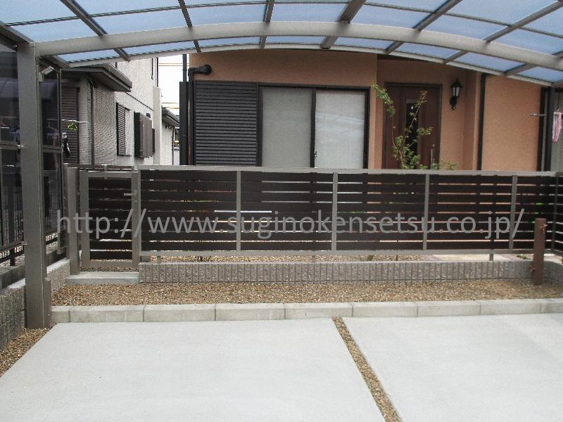 駐車スペース / 立水栓 / 通用口(門扉)