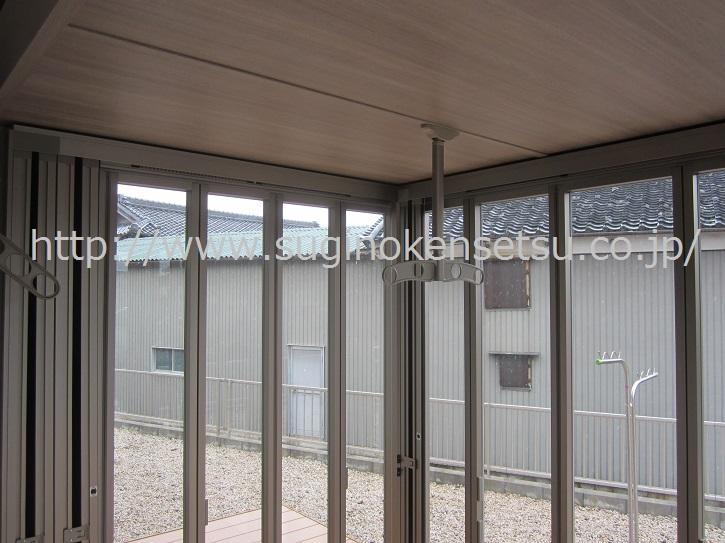ガーデンルームジーマ内屋根パネル