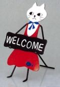WELCOMEボード