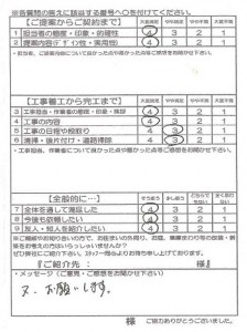 290518K邸防草シート砂利敷き及び車庫拡張工事