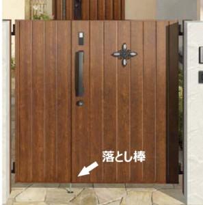 両開き門扉