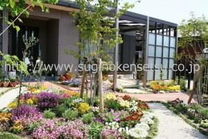 花のあるお庭